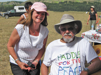 Shirlee and David Suzuki